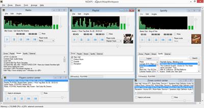 Multi Room Audio Player screenshot